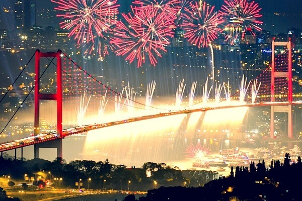 Istanbul New Years Eve 2020 Events, Hotel Packages