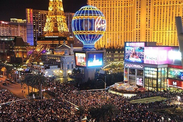 Las Vegas New Years Eve 2020 Party Places, Event Places ...