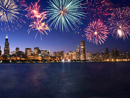 Chicago New Years Eve 2020 Hotel Packages, Fireworks Live Stream Tips